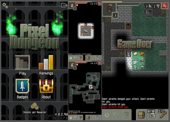 Shattered Pixel Dungeon caps